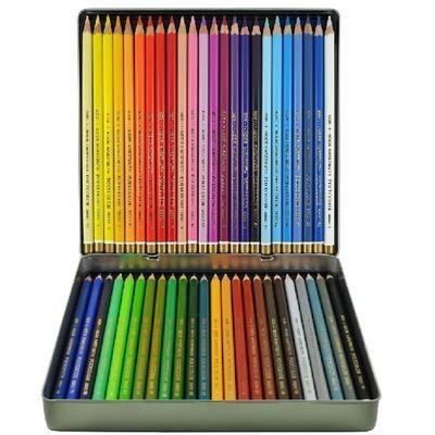 Polycolor Sada pastelek - 48 ks v plechu - 2