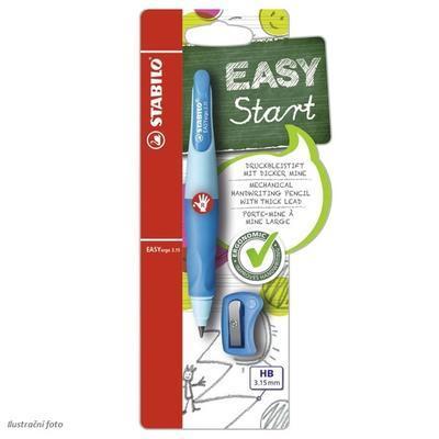 Stabilo EASYergo Versatilka Start 3,15 mm - světle/tmavě modrá pro praváky - 2