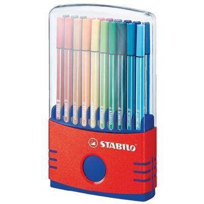 Stabilo Pen 6820-04  ColorParade Sada fixů 1 mm, 20 ks - 2