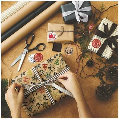StampoNoël Vánoční razítka včetně inkoustů - Pohádkové Vánoce - 2