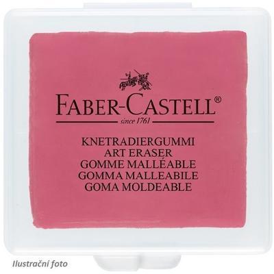 Faber-Castell Stěrací pryž umělecká - červená, žlutá, modrá, v plastové krabičce - 2