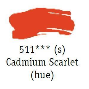 Daler & Rowney - System 3 Original - cadmium scarlet 511 - tuba 75 ml - 2