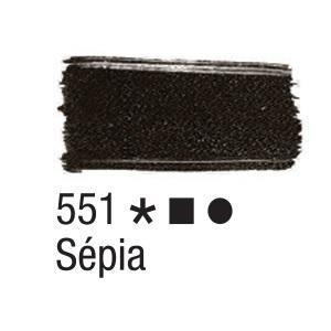 Acrilex Barva na textil 37ml - sepia 551 - 2