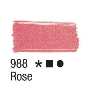 Acrilex Barva na textil 37ml - starorůžová 988 - 2