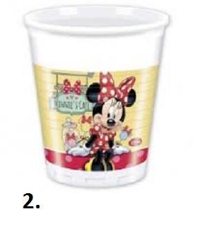 Plastové kelímky 0,25 l 8 ks - Walt Disney - 2