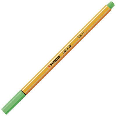 Stabilo point 88/16 - smaragdová - 0,4mm - 2