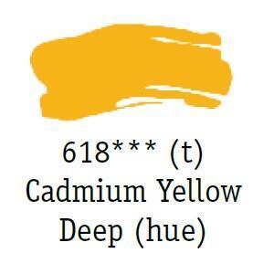 Daler & Rowney - System 3 Original - cadmium yellow deep 618 - tuba 75 ml - 2
