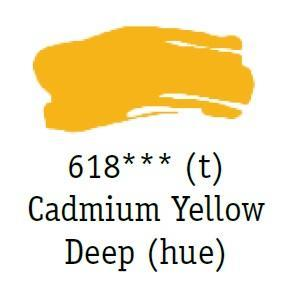 Daler & Rowney - System 3 Original - cadmium yellow deep 618 - tuba 75 ml - 2