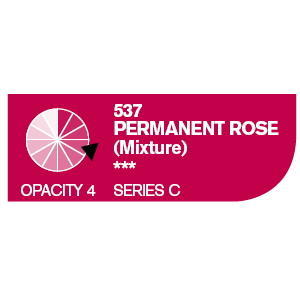 Daler & Rowney Cryla C 75 ml - permanent rose 537 - 2