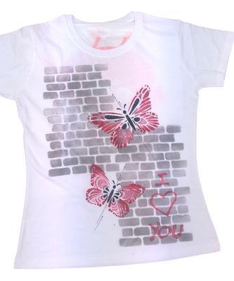 Šablona plastová 30x20cm - Motýli 2 - 2