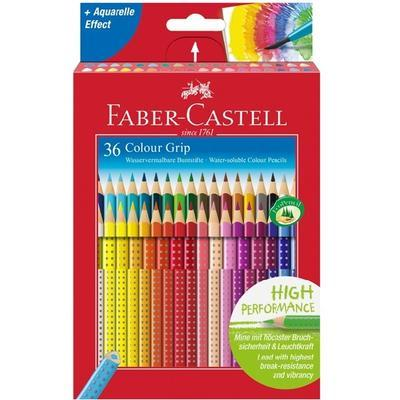 Faber-Castell Pastelky Colour Grip - sada 36 ks - 2