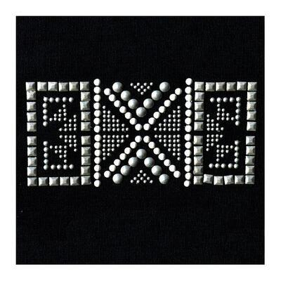 Samolepka na textil zažehlovací štrasová 7x11 cm - ETHNO - 2