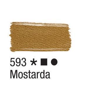 Acrilex Barva na textil 37ml - hořčice 593 - 2