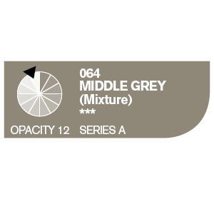 Daler & Rowney Cryla A 75 ml - middle grey 064 - 2