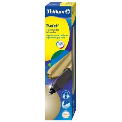 Pelikan Twist Bombičkový roller - Pure Gold - 2