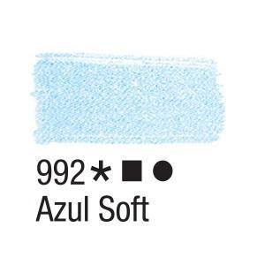 Acrilex Barva na textil 37ml - pastelová modrá 992 - 2