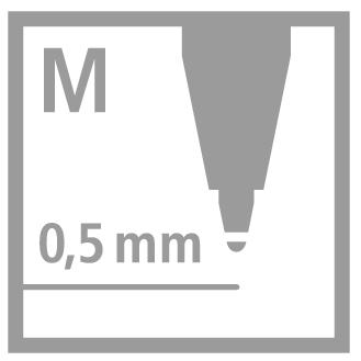 Stabilo Ballpoint Refill  Náplň do kuličkových per červená - 2