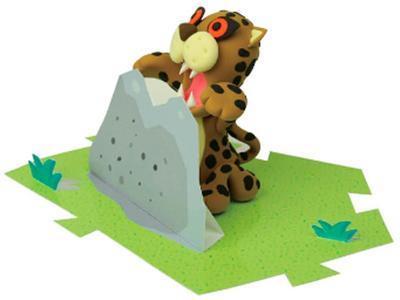 "Modelovací hmota Jumping Clay - Savana ""Gepard"" - 2"