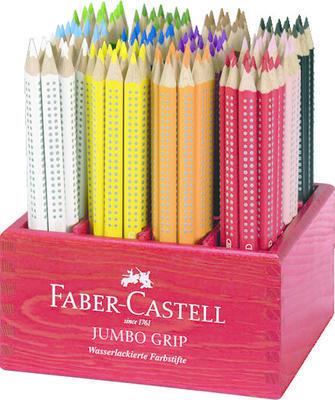 Faber-Castell Pastelka Jumbo Grip - stříbrná - 2