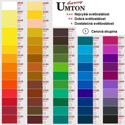 Akvarelová barva 2,6ml - Okr červený - 2
