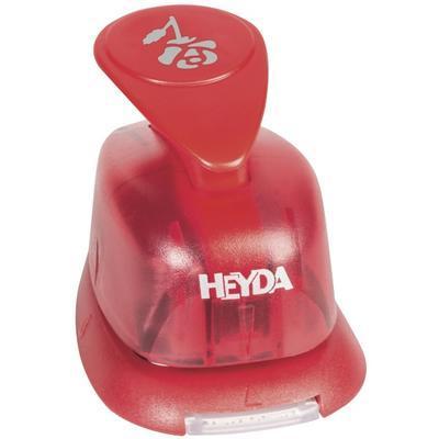 HEYDA Děrovač červený 15 mm - Růže - 2