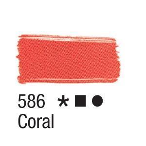 Acrilex Barva na textil 37ml - korálová 586 - 2