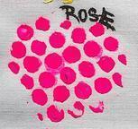 Izink pasta 3D, 75 ml - Rose, křiklavě růžová - 2
