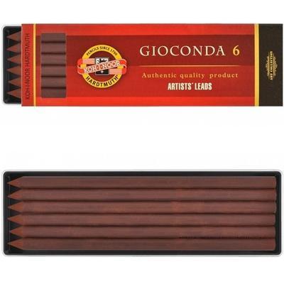 Gioconda Sépie hnědá kreslířská 5,6mm - světlá hnědá, 6ks - 2