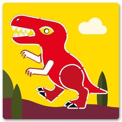 Djeco Šablony Dinosauři - 5ks - 2