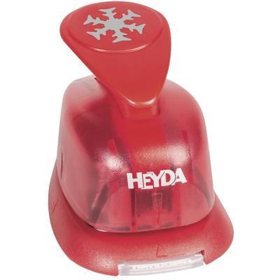HEYDA Děrovač červený 15 mm - Sněhová vločka - 2