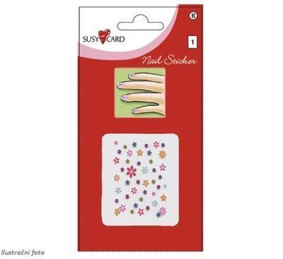 Susy Card samolepky holky kytičky - 2
