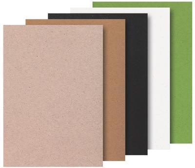 Blok A4 -20 listů, přírodní papír - 5 barev - 2