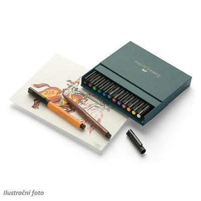 Faber-Castell PITT Artist Pen Brush - Atelier Box 12 ks  - 2