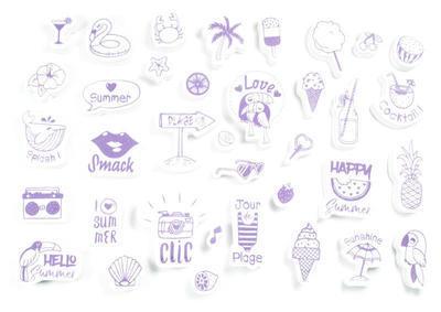 StampoScrap - Moje léto - 2