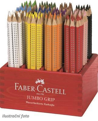 Faber-Castell Pastelka Jumbo Grip - bílá - 2