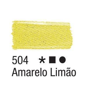 Acrilex Barva na textil 37ml - citronově žlutá 504 - 2