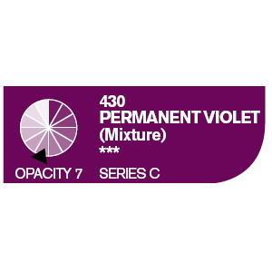Daler & Rowney Cryla C 75 ml - permanent violet 430 - 2