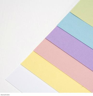 Foamiran Sada pěnovek A4/0,8 mm 1, 6 ks pastelové barvy - 2