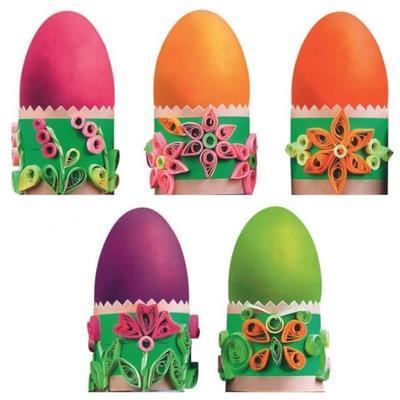Quilling Sada k dekorování vajíček - 2