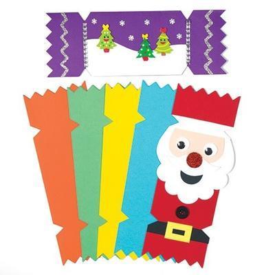 Vánoční kartičky - 6 barev, 28x10 cm - 2
