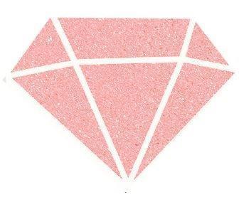 Diamantová barva 80 ml - pudrová růžová - 2