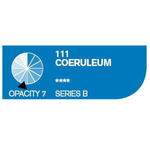 Daler & Rowney Cryla B 75 ml - coeruleum 111 - 2