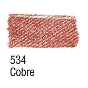 Acrilex Barva na textil 37ml - metalická měděná 534 - 2