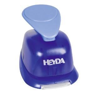 HEYDA Děrovač (raznice) modrý 22 mm - Růže - 2