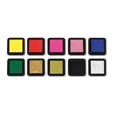 StampoColors - Primary, barevné polštářky - 2