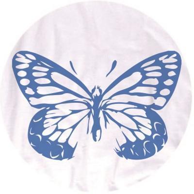 Textilní razítkovací polštářek - modrá  Sky - 2
