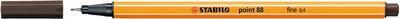 Stabilo Point 88/65 - žlutohnědá - 0,4mm - 2