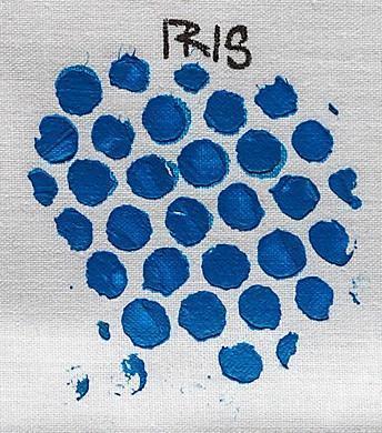 Izink pasta 3D, 75 ml - Iris, modrá - 2