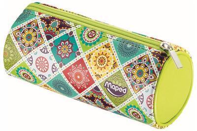 Pouzdro MAPED Mosaics kulaté - ružové, fialové, zelené - 2