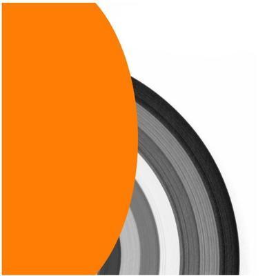 Proužky na Quilling šířka 3mm - oranžové - 2